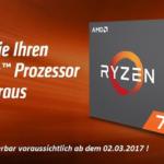 AMD Ryzen доступны для предзаказа в Россию